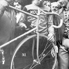 Colnago archives – Ernesto Colnago & Eddy Merckx inspect Eddy's World Hour Record bike