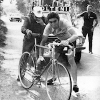 Colnago archives – Colnago it there for the bike change for Merckx – Maglia Rosa – Giro d'Italia