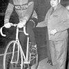 Colnago archives – Ernesto Colnago & Eddy Merckx ready for the start of the World Hour Record attempt