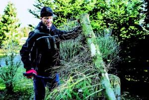 Ondrej Sosenka n'a pas que le cyclisme comme passion, il aime travailler dans les jardins pour affiner sa condition physique.